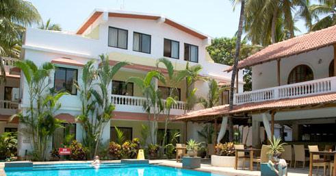 Hotel Casablanca Beach Resort Spa Butique Goa Online Booking Room Rates Tariff